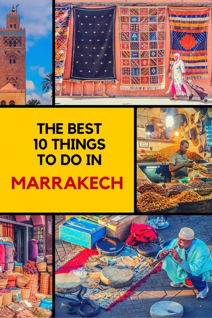 Check out our best 10 things to do in Marrakech!