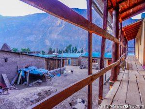 Accommodation at Colca Canyon village, Peru
