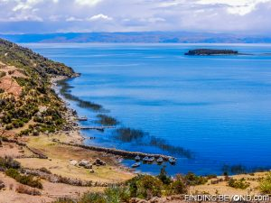 View point of Lake Titicaca.