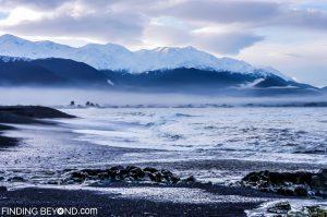 Kaikoura coast line, New Zealand