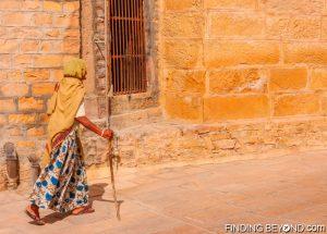 Local man in Jaisalmer, India