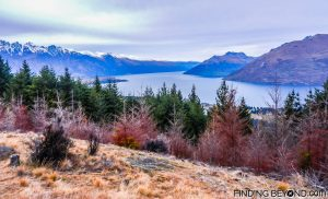 View from Queenstown Hill, New Zealand