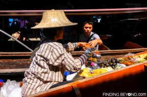 Floating market seller, Vietnam.