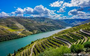 The stunning Douro Valley, Portugal.Portugal Highlights for a 2 Week Itinerary.