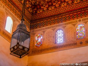 Typical Moroccan interior decoration