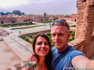 Overlooking Badii Palace, Marrakech.
