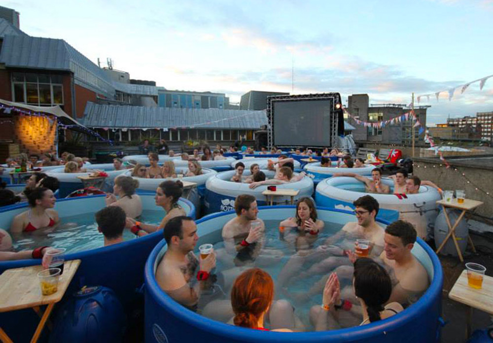 Hot Tub Cinema, London. 10 Reasons why we think London is Awesome.