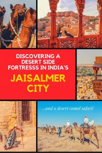 Discovering a Desert Side Fortress in India's Jaisalmer City