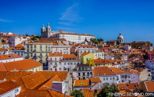 View from Miradouro das Portas do Sol. Things to do in Alfama District - Lisbon Old Town.