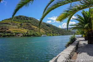 River path in Pinhao. Our guide to the Douro Valley, Portugal.