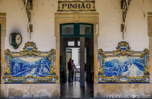 Pinhao train station. Our guide to the Douro Valley, Portugal.