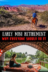 Early mini retirement. It's possible for everyone. We've taken 3 over the past 10 years and we're only in our early 30s. Here we share why you should do it.