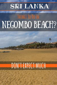 Looking for things to do in Negombo beach? We stayed at the resort after landing in Sri Lanka so read this honest account if you're planning on visiting.