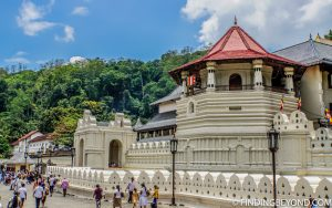 Main temple exterior. Kandy, Sri Lanka. Top 5 Things to do in Kandy City in One Day.