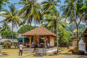 Part of the temple complex. Kandy, Sri Lanka. Top 5 Things to do in Kandy City in One Day.