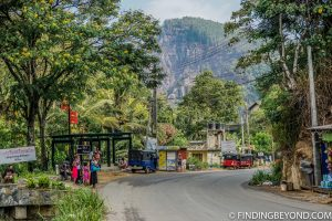 Ella's main street. Things to do in Ella, the beautiful Sri Lanka Hill country base town. Including the best walks, restaurant recommendations and accommodation.