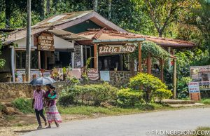 One of Ella's restaurants on Passara Road which sells proper moist cake! Mountains in Sri Lanka - Little Adams Peak: A Photo Journey