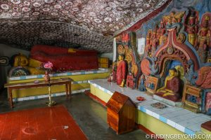 Inside the Ravanna Rock Temple. Things to do in Ella, the beautiful Sri Lanka Hill country base town. Including the best walks, restaurant recommendations and accommodation.