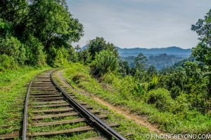 Train tracks with a view. Hiking in Sri Lanka is a must when visiting the island and Ella Rock is a highland highlight. We documented our climb to the top with some wonderful photos.