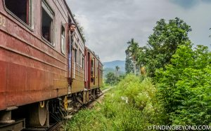 A passing train. Hiking in Sri Lanka is a must when visiting the island and Ella Rock is a highland highlight. We documented our climb to the top with some wonderful photos.