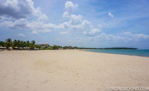 Pasikuda beach. Kalkudah and Pasikuda Beaches - Sri Lanka.