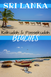 Kalkudah and Pasikuda Beaches in Sri Lanka are two breathtaking back to back stretches of sand. But they are quite different. In this post we compare the two.