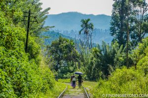 Local family on their way to Ella town. Hiking in Sri Lanka is a must when visiting the island and Ella Rock is a highland highlight. We documented our climb to the top with some wonderful photos.