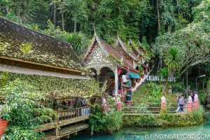 Chiang Dao Cave entrance. Top 10 Things to do in Chiang Dao.