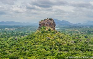 Lion Rock in Sigiriya Sri Lanka