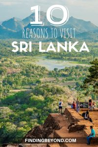 Sri Lanka is a diverse and tropical island below the southern tip of India. If you need some convincing to go, here's our 10 reasons to visit Sri Lanka.