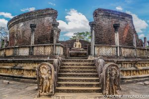 One of many Polonnaruwa historical ruins