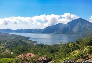 Lake and Mount Batur