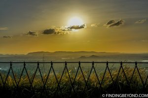 Sunset from Lion Rock Sigiriya