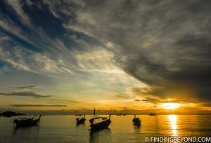 Sunset in Ko Lipe Thailand