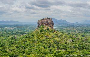 Lion Rock from Pidurangala