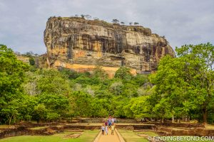 Lion Rock in Sigiriya