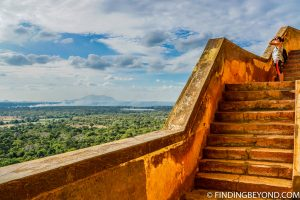 Lion Rock views in Sigiriya