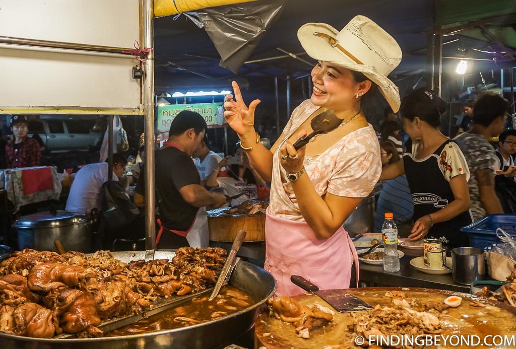 Chiang Mai street food vendor