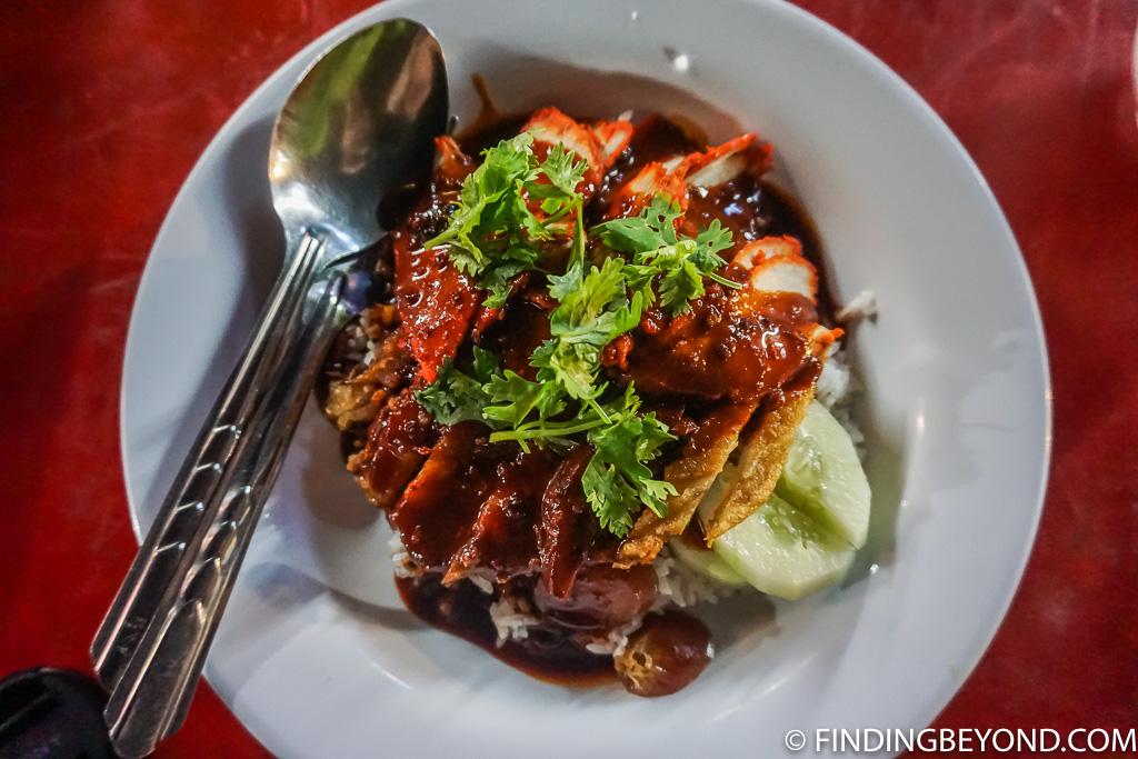 Chiang Mai Street Food - Pork on rice