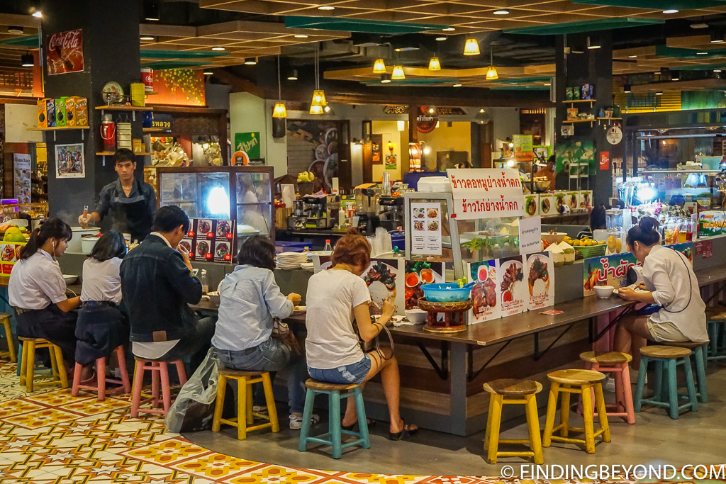 Maya Shopping Mall level 4 street food court