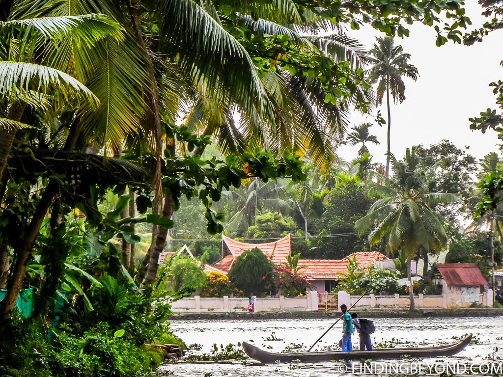 Indian photo of Kerala backwaters
