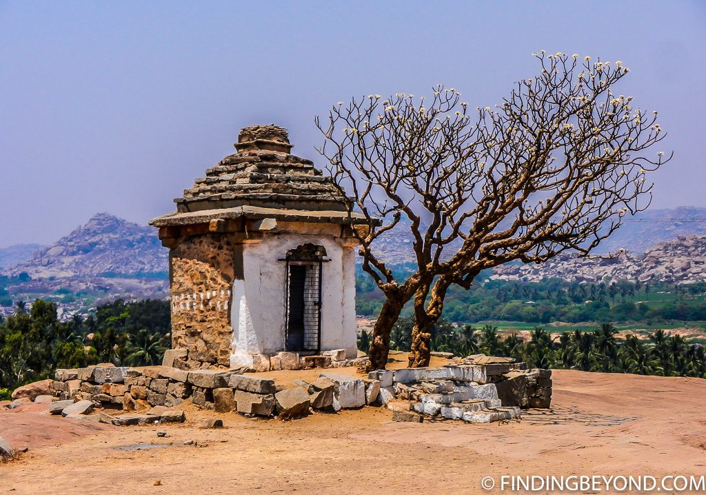 Indian photo of shrine in Hampi