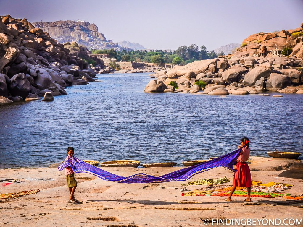 Indian Photo of Children in Hampi India