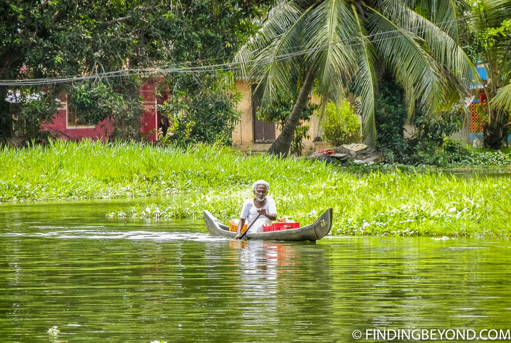 Indian Photo of Kelrala Backwaters in India