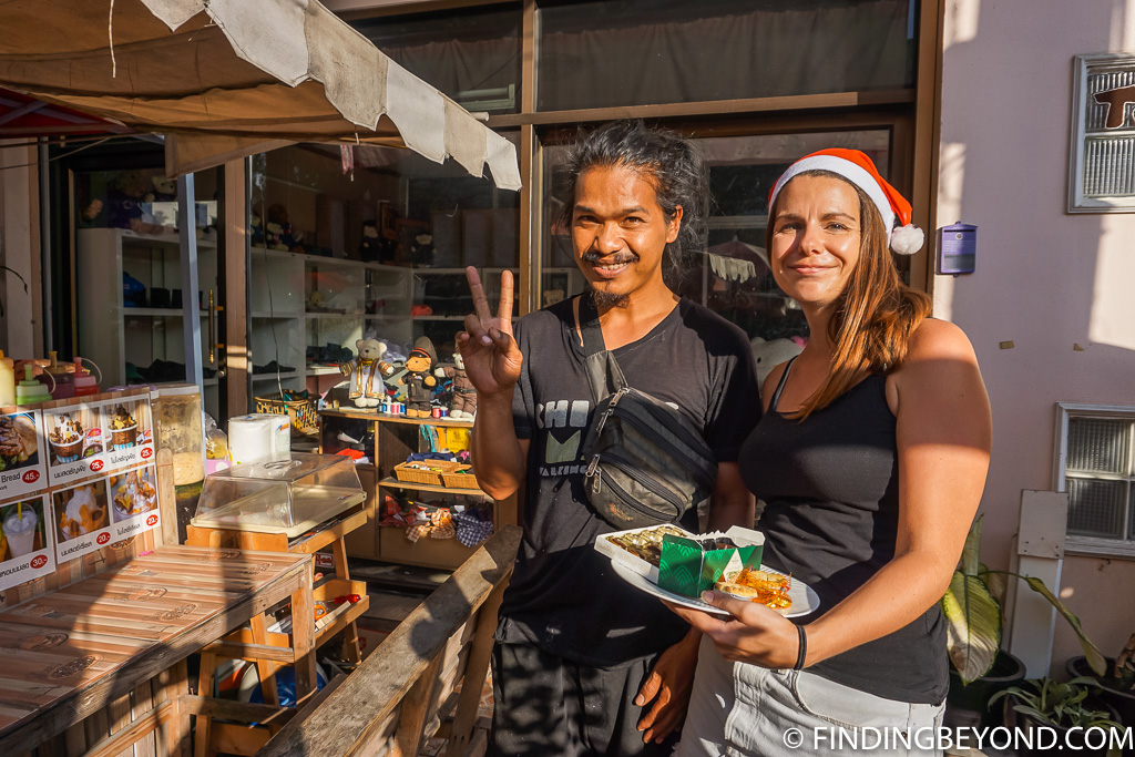 Our favourite drinks stall in Santitham Chiang Mai Thailand