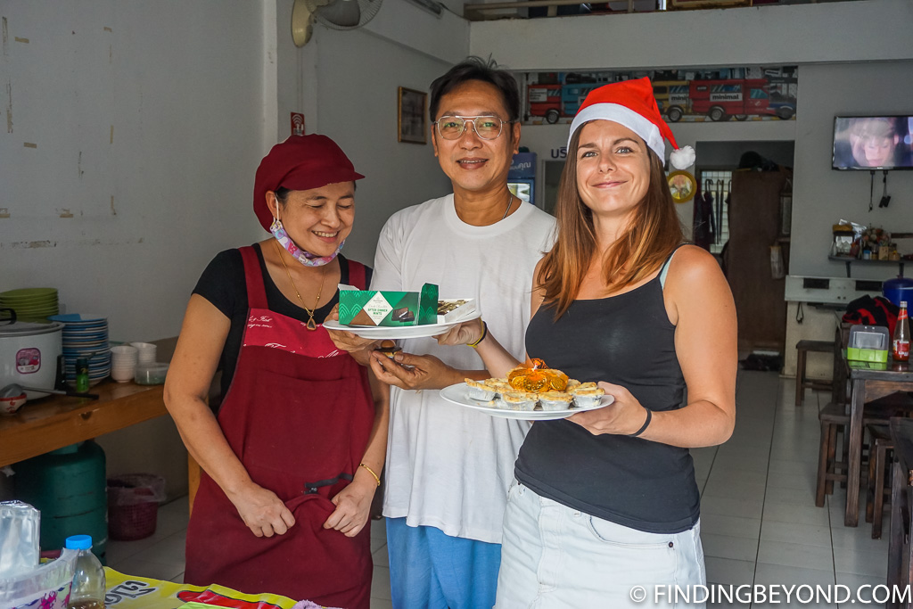 Our favourite restaurant owners in Santitham Chiang Mai Thailand