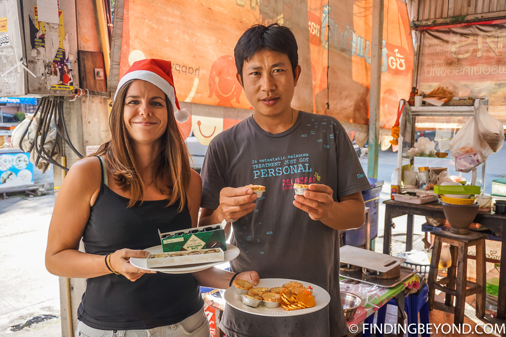 Our favourite fruit sellers in Santitham Chiang Mai Thailand