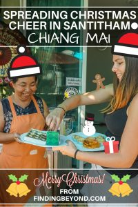 We enjoyed spreading some Christmas cheer in Santitham, our Chiang Mai neighbourhood. Come and see our lovely new smiley Thai friends.