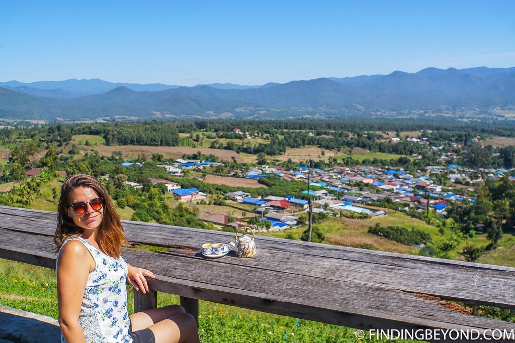 Yun Lai viewpoint in Pai Thailand