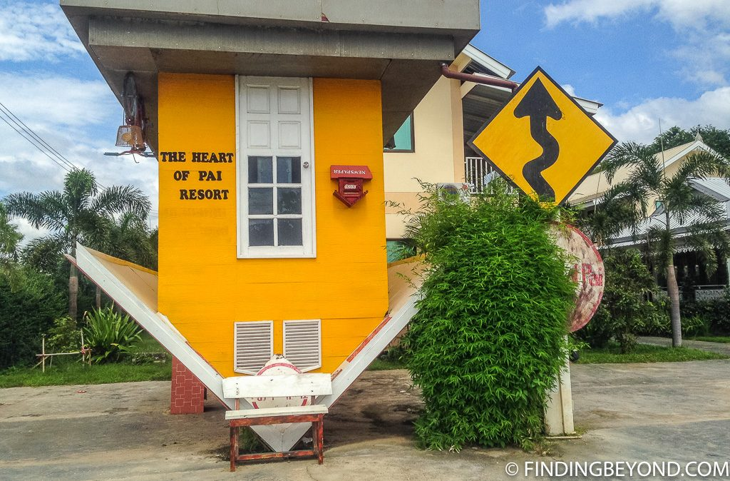 Upside down house in Pai